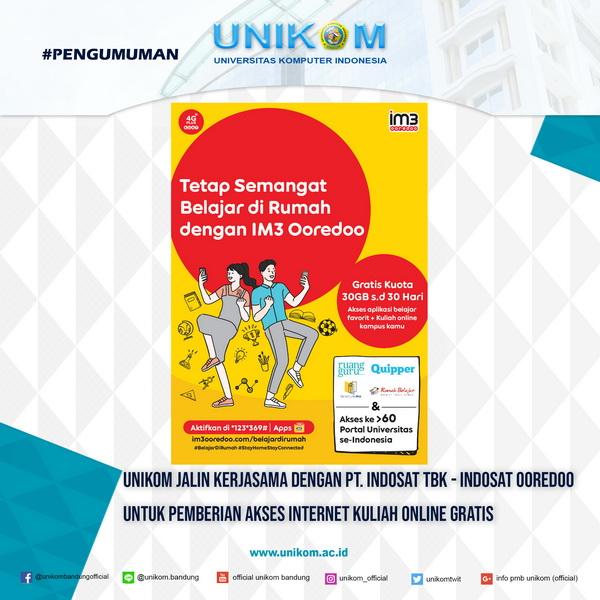 Unikom Jalin Kerjasama Dengan Pt Indosat Tbk