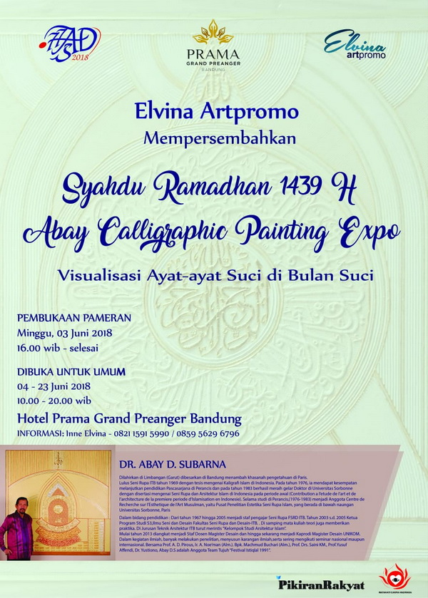 Abay Calligraphic Painting Expo