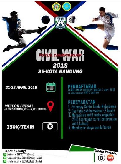 Civil War Futsal Championship 2018
