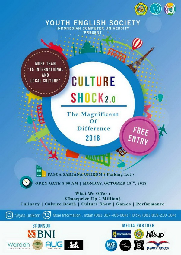 """Culture Shock 2.0 """"The Magnificent of Difference"""" 2018"""