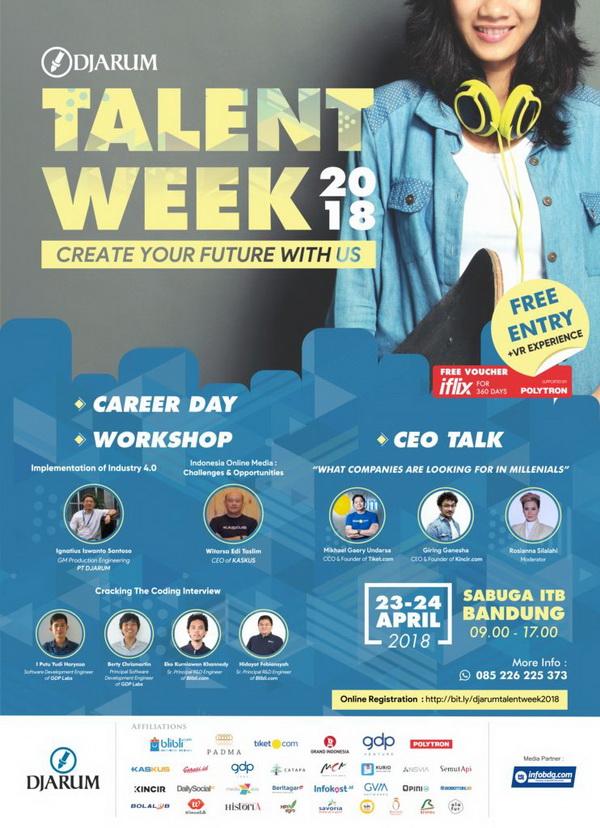 Djarum Talent Week 2018