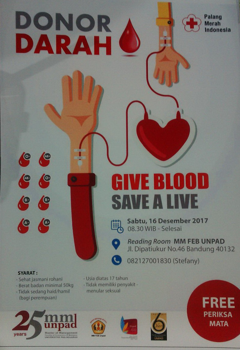 Donor Darah - Give Blood Save a Live
