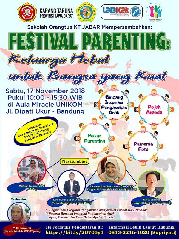 Festival Parenting - Keluarga Sehat untuk Bangsa yang Kuat