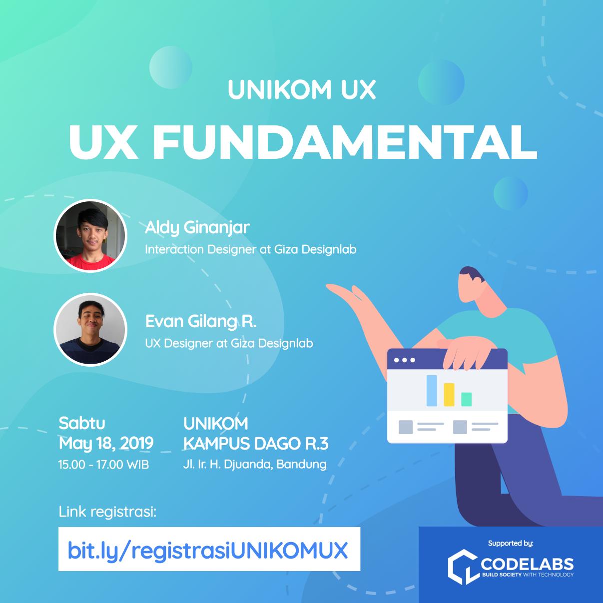 Komunitas UNIKOM UX - UX Fundamental