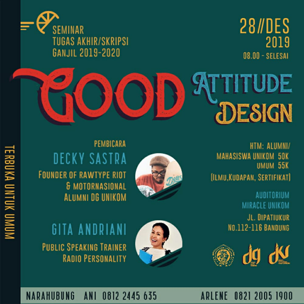 Good Attitude Good Design 2019