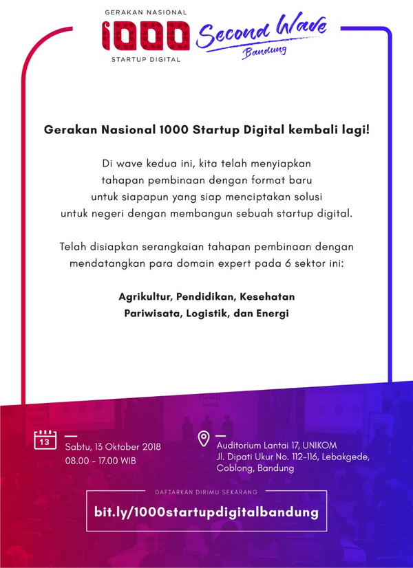 Ignition - Gerakan Nasional 1000 Startup Digital Second Wave