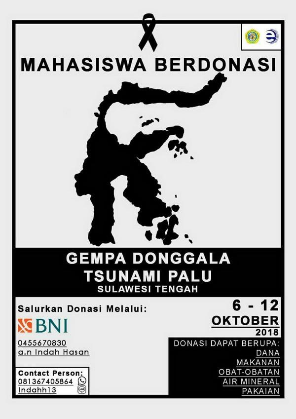 Info Mahasiswa Berdonasi