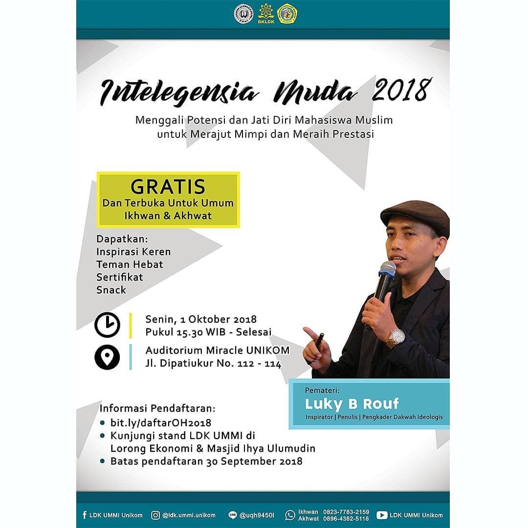 Intelegensia Muda 2018
