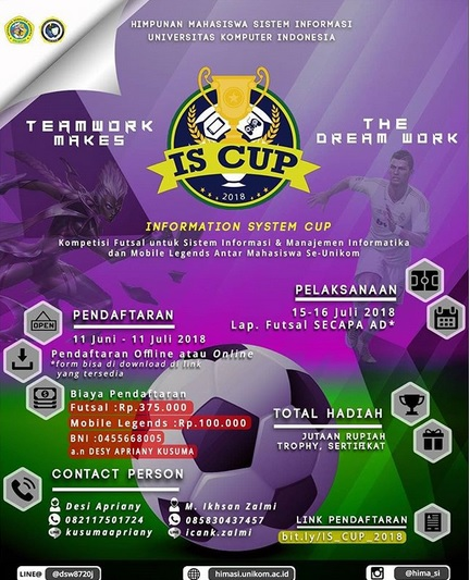 IS CUP 2018