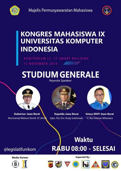 Kongres Mahasiswa IX Universitas Komputer Indonesia