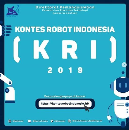 Kontes Robot Indonesia (KRI) 2019