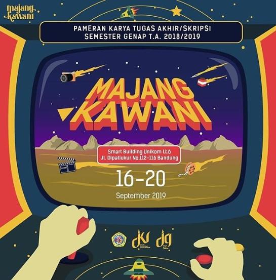 Pameran Majang Kawani Unikom 2019