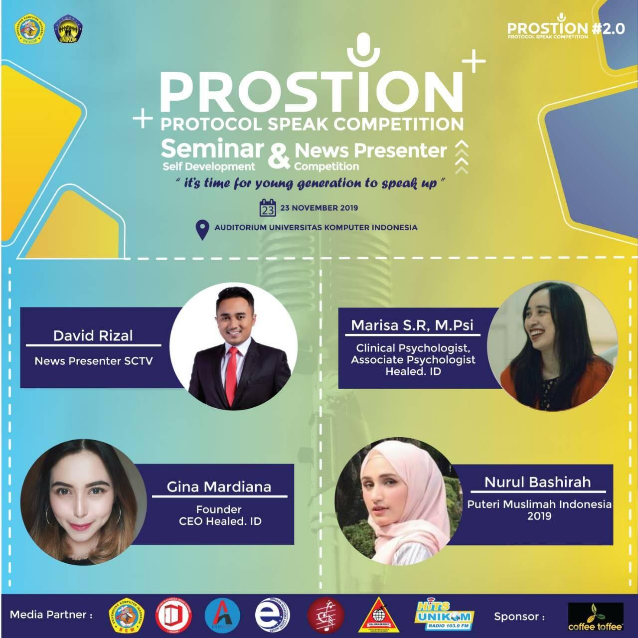 Protocol Speak Competition (Prostion) #2.0