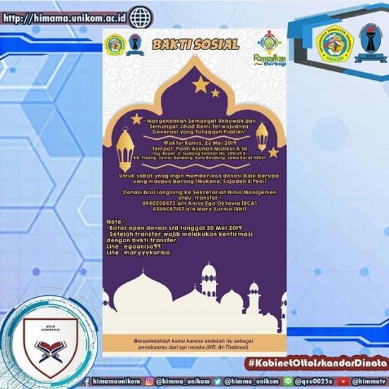 Ramadhan Berbagi 'Bakti Sosial'