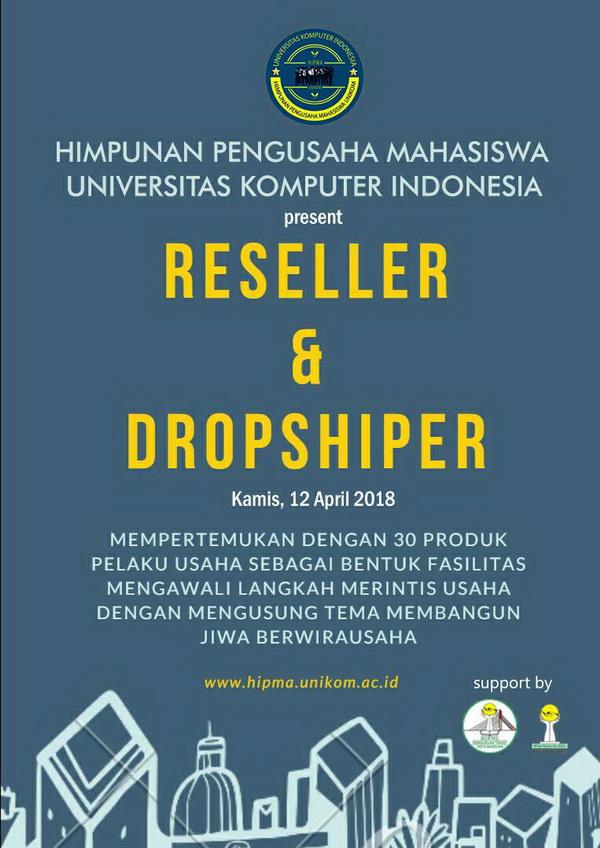 Reseller & Dropshiper Hipma Unikom