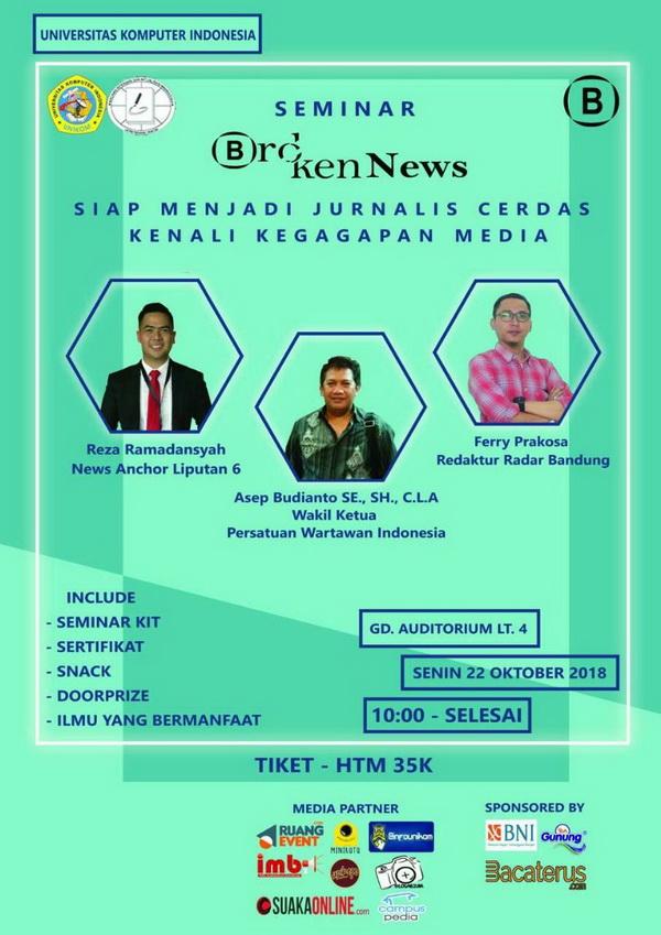 Seminar Broken News 2018