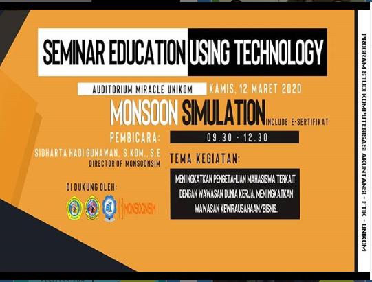 Seminar Education Using Technology 2020