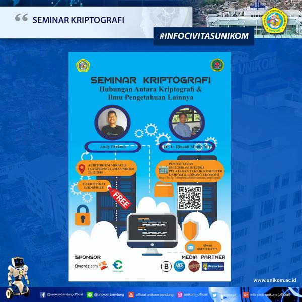 Seminar Kriptografi 2018
