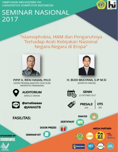Seminar Nasional 2017 'Islamophobia'
