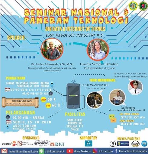 Seminar Nasional Dan Pameran Teknologi