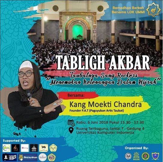 Tabligh Akbar LDK Ummi Unikom 2018