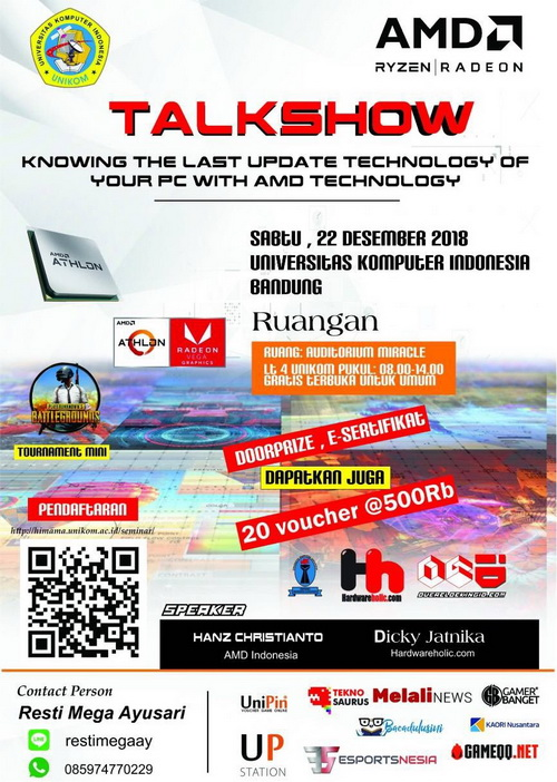 "Talkshow ""Knowing The Last Update Technology of Your PC with AMD Technology"""