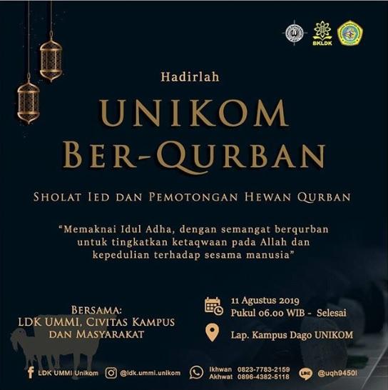 Unikom Ber-Qurban 2019