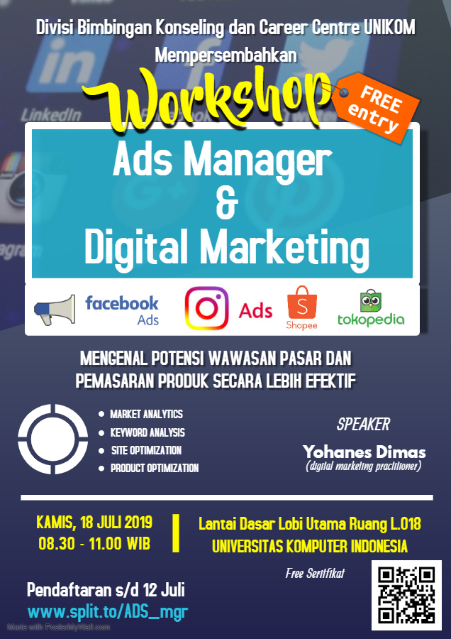 Workshop Ads Manager & Digital Marketing