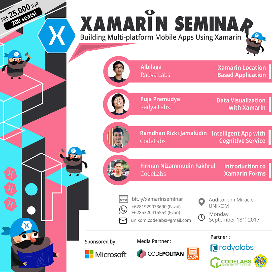 Xamarin Seminar : Building Multi-platform Mobile Apps Using Xamarin