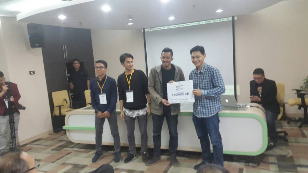 Juara Nasional Animasi Multimedia 2017