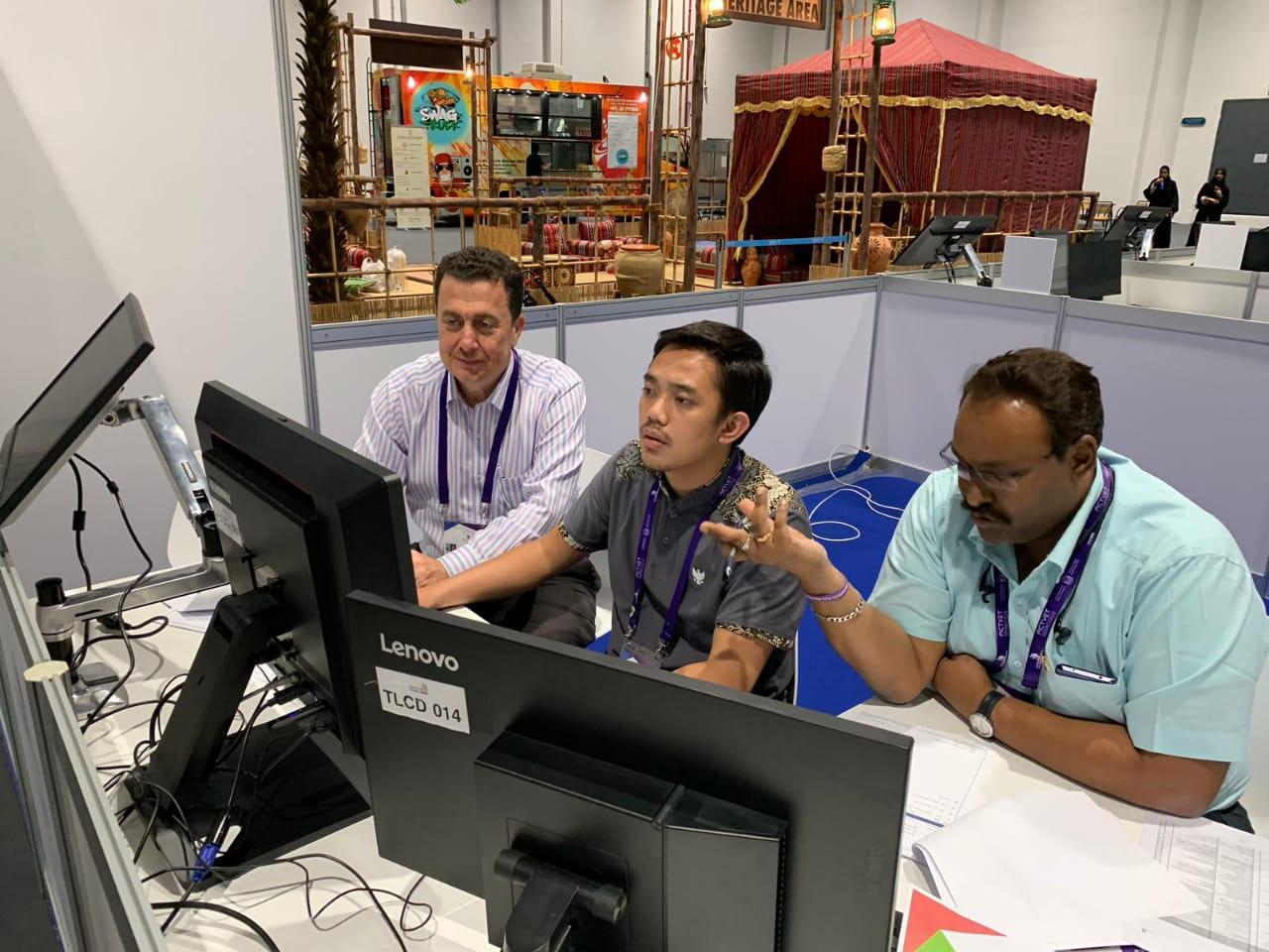 JUARA 1 ICT - WORLD SKILLS ASIA 2018, ABU DHABI UEA (Foto ke-10)