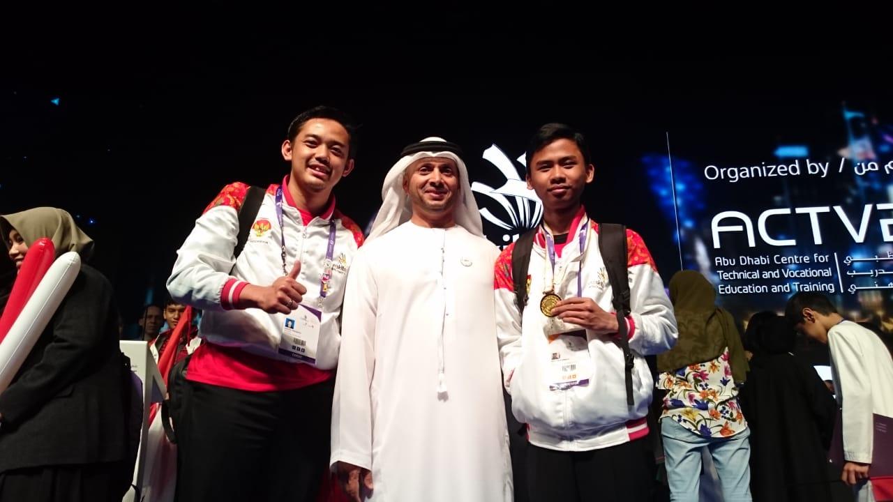 JUARA 1 ICT - WORLD SKILLS ASIA 2018, ABU DHABI UEA (Foto ke-6)