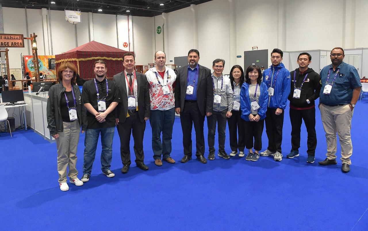 JUARA 1 ICT - WORLD SKILLS ASIA 2018, ABU DHABI UEA (Foto ke-8)