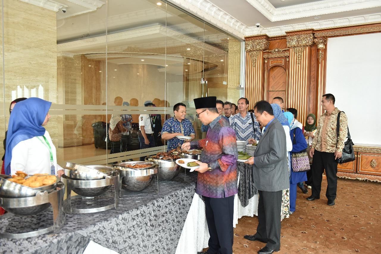 Kunjungan Ketua MPR Dr. Zulkifli Hasan (Foto ke-14)