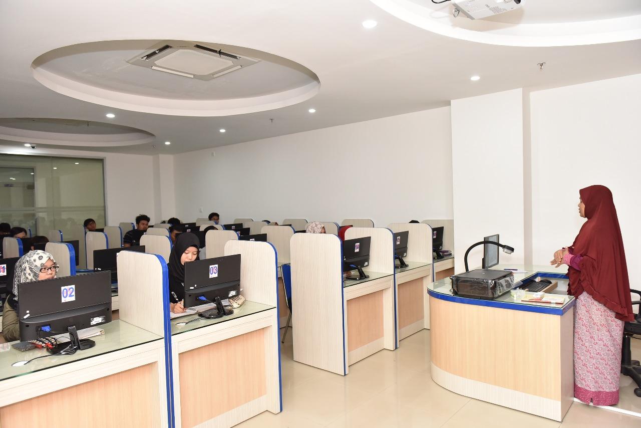 Ruangan Lab Bahasa 1
