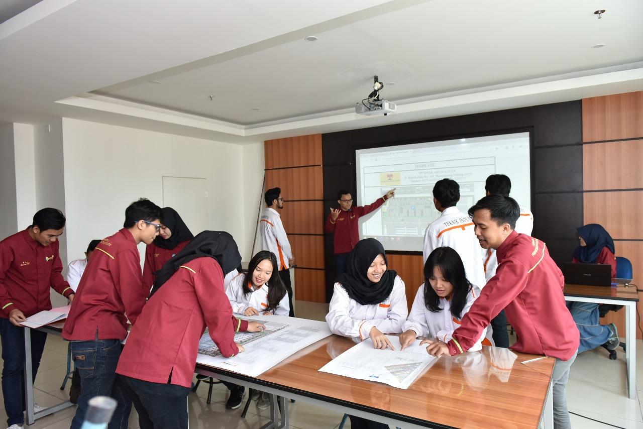 Ruangan Lab Perancangan Tata Letak Fasilitas Teknik Industri 1