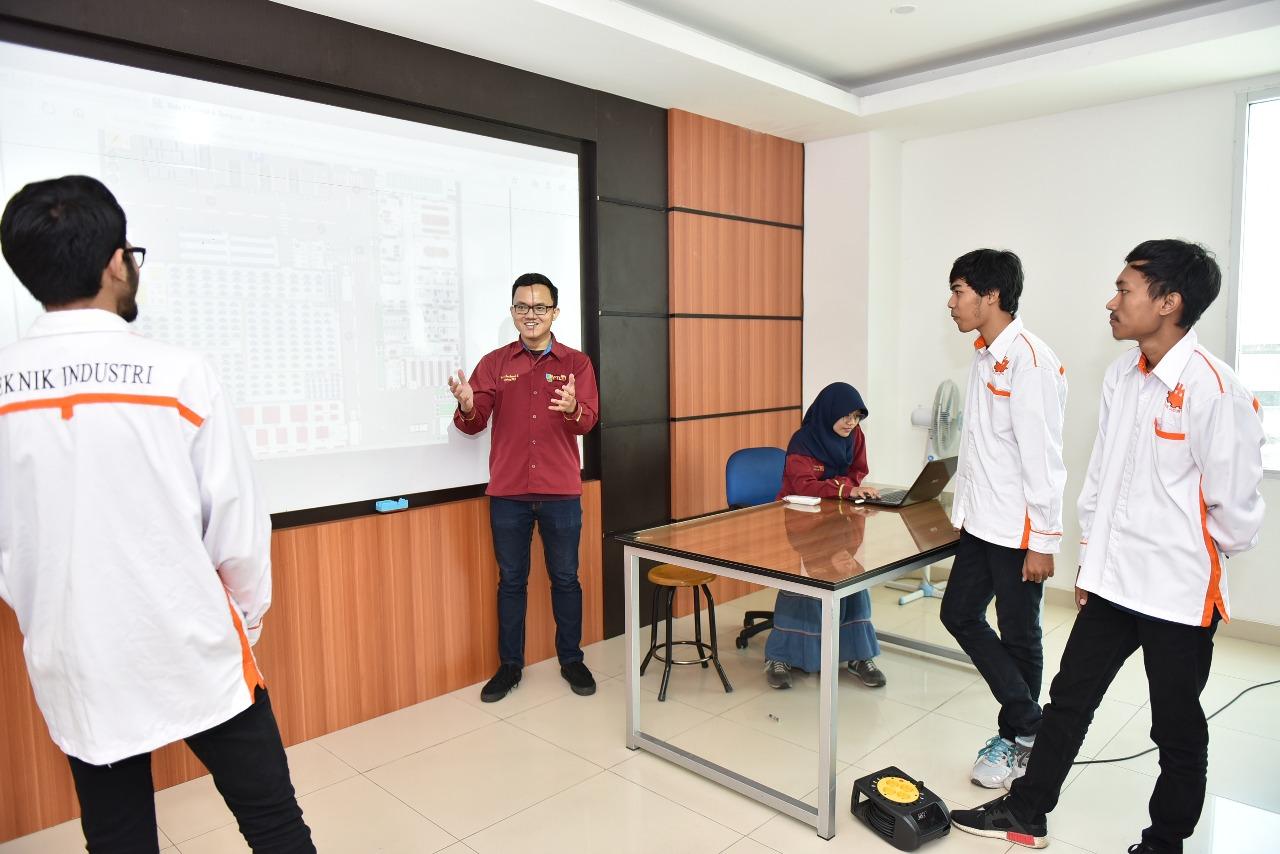 Ruangan Lab Perancangan Tata Letak Fasilitas Teknik Industri 5