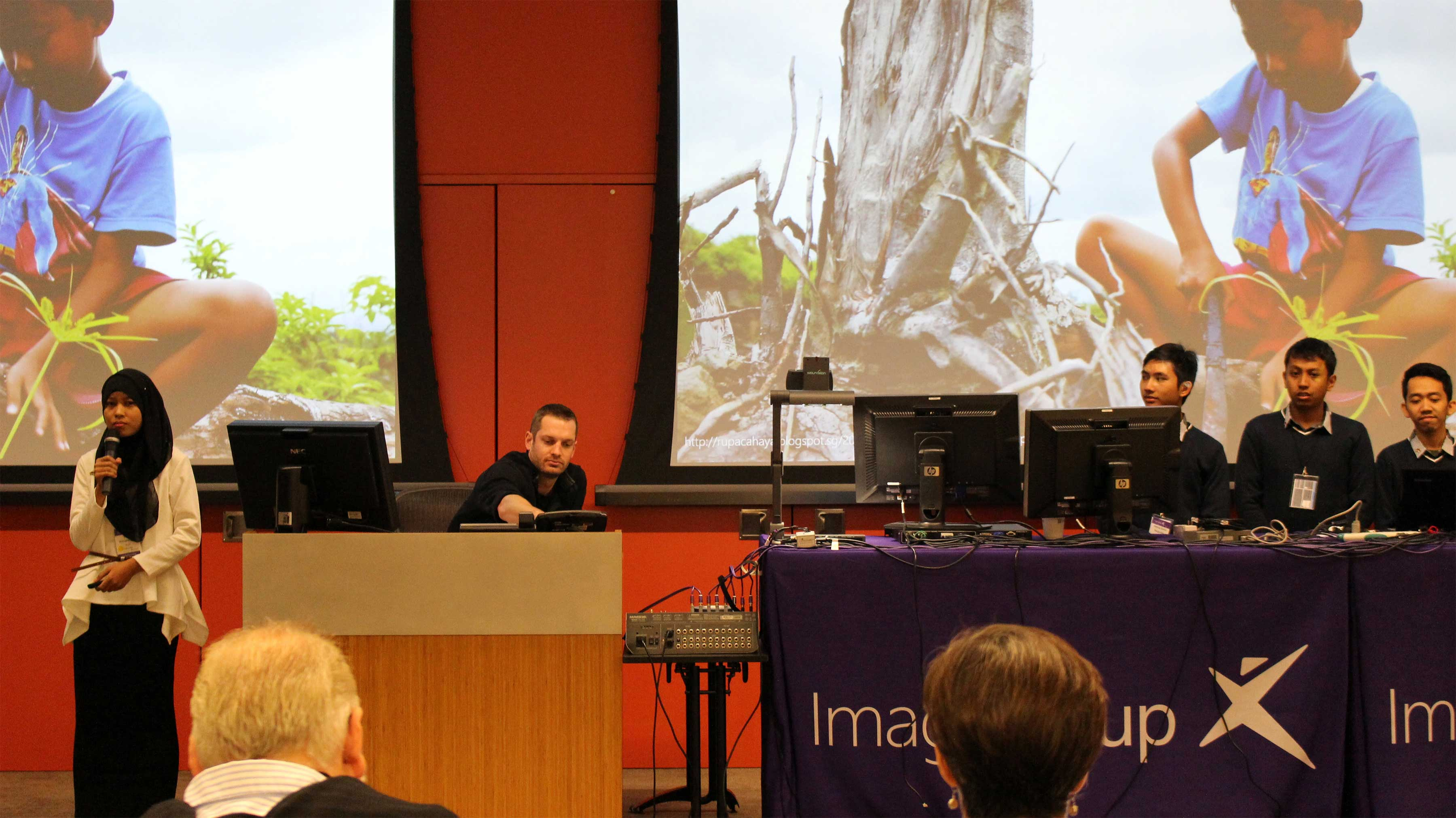 Tim Alix dengan Aplikasi Solidare di Final WorldWide Imagine Cup 2015